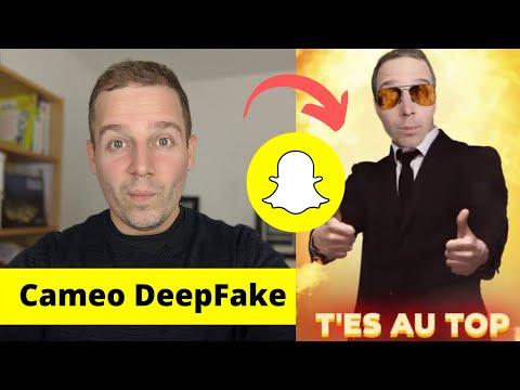 Cameos De Snapchat : Comment Faire Un DeepFake ?