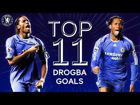 Didier Drogba's 11 Best Champions League Goals | Chelsea Tops