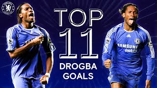 Didier Drogba's 11 Best Champions League Goals | Chelsea Tops