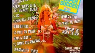 13 Super Succès n° 33 - Daniel Janin - 04 - Femme est la nuit (Les Tréteaux LP 6371-04)