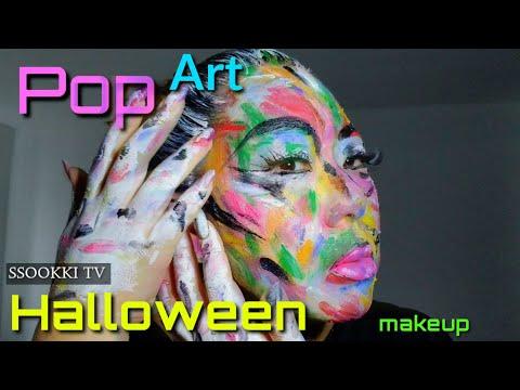 17. Pop Art meme- makeup, Halloween thumbnail