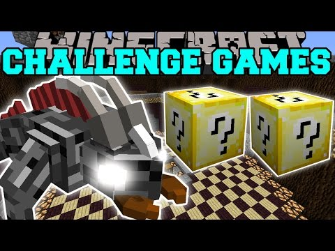 Minecraft: DUNGEON BEAST CHALLENGE GAMES - Lucky Block Mod - Modded Mini-Game