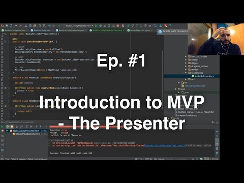 Refactoring an Android App - #1 - Intro to the MVP pattern