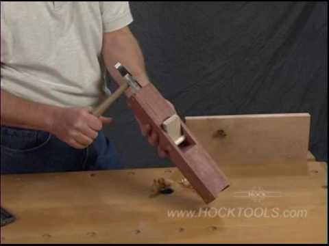 Build A Wooden Hand Plane From A Hock Plane Kit