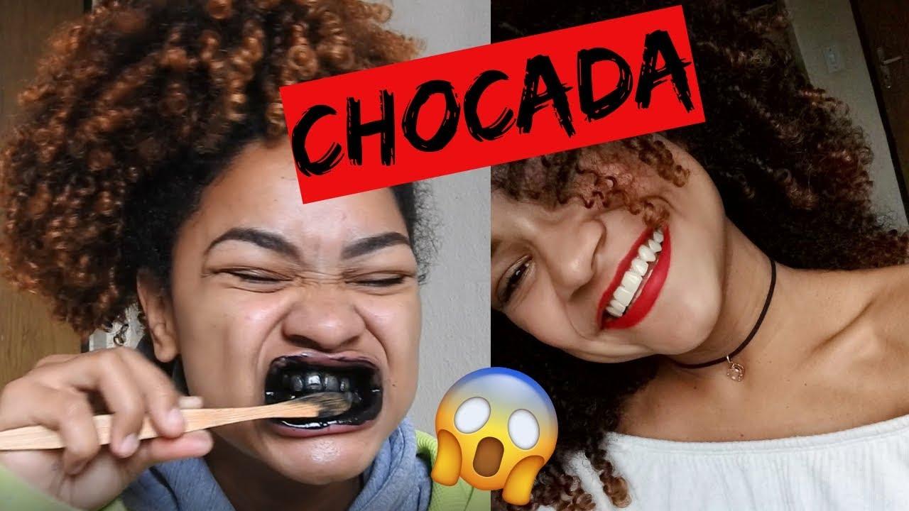 Clareando Meus Dentes Com Carvao Carvvo Youtube