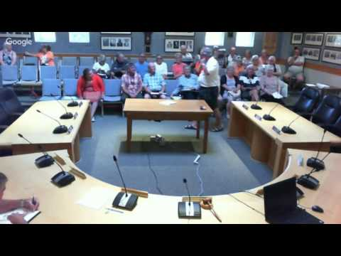 Committee of the Whole - Special Meeting - Tuesday August 9, 2016