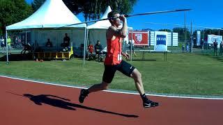 Thomas Röhler 6th throw 3rd. Speerwurf-Festival Jena 2018.