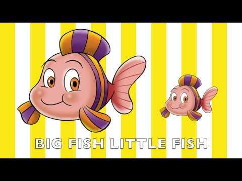 Big Fish Little Fish | children's songs | kids dance songs by Minidisco