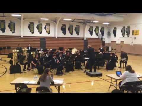 LAkes community high school symphonic band 2018 IHSA festival