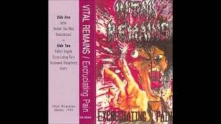 "Vital Remains - Nocturnal Blasphemy (From Demo ""Excruciating Pain"", 1990)"