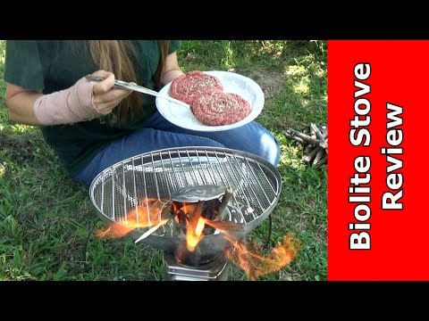 Camp Stove Review - Biolite - Bret and Becky