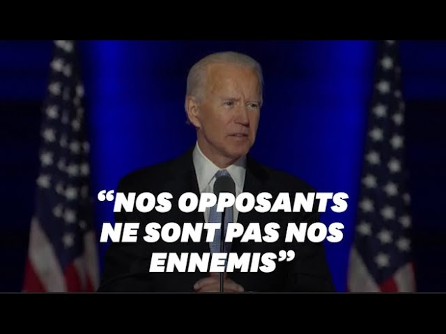 Joe Biden s'engage à être