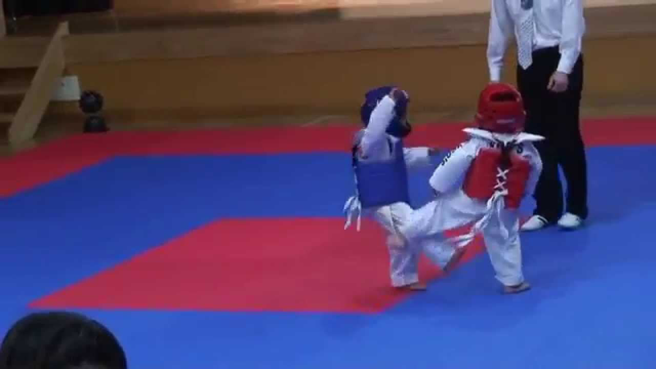 The Best Taekwondo Fight Ever The Cutest Thing Ever