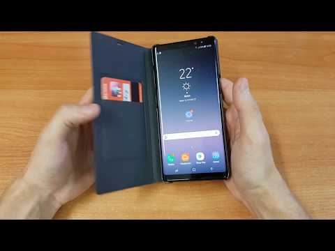 LED VIEW COVER Galaxy Note8 TEST