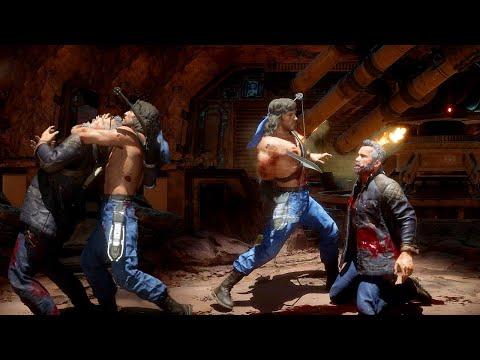 Mortal Kombat 11 Rambo All Brutalities & Fatalities MK11 Rambo Brutality