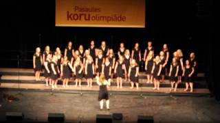 Skanderborg Girls Choir - Mr. Briefcase (World Choir Games 2014)