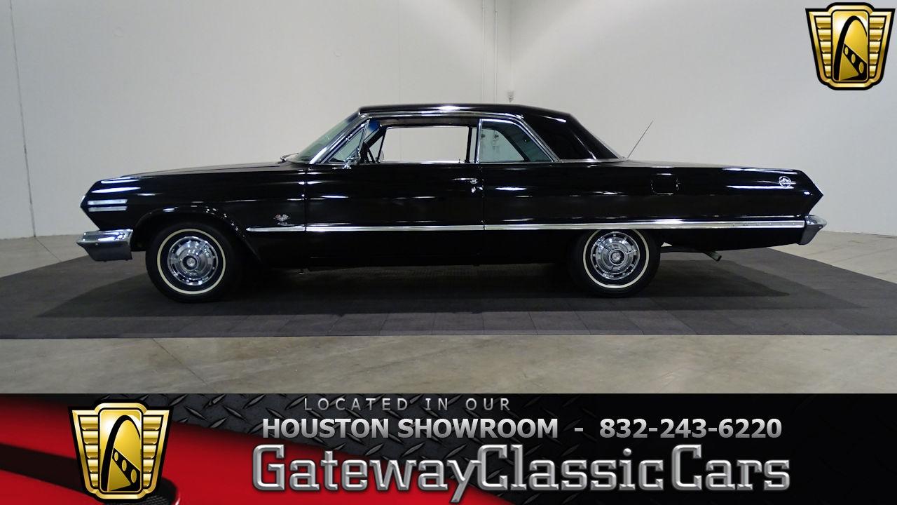 1963 Chevrolet Impala SS Gateway Classic Cars #654 Houston Showroom ...