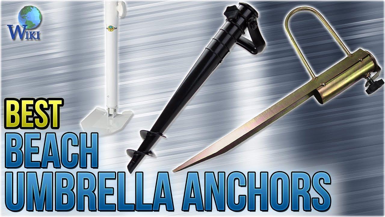 10 Best Beach Umbrella Anchors 2018