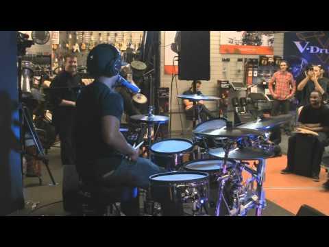 Tony Royster Jr. Drum Solo at Sam Ash Torrance