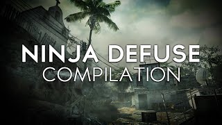 Call of Duty MW3 - SNEAKY Ninja Defuse Compilation