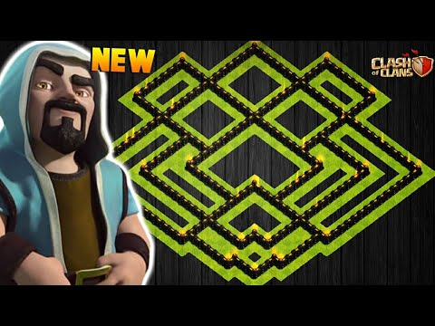NEW TOWN HALL 9 FARMING/TROPHY BASE 2018! TH9 HYBRID BASE JANUARY EDITION!! - CLASH OF CLANS(COC)