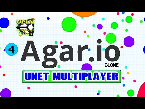 #4 Agar.io Unity clone Multijoueur Unet - Food Manager Network, Sync Scale player