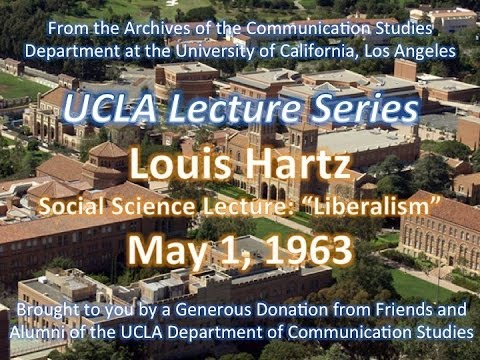 Louis Hartz lecturing at UCLA 3/4/1964