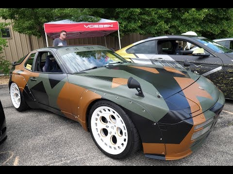 Custom Wide Body Porsche 944 Turbo (951) and Other Import Cars