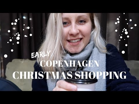 Early Christmas Shopping in Copenhagen & British Snacks from Kat