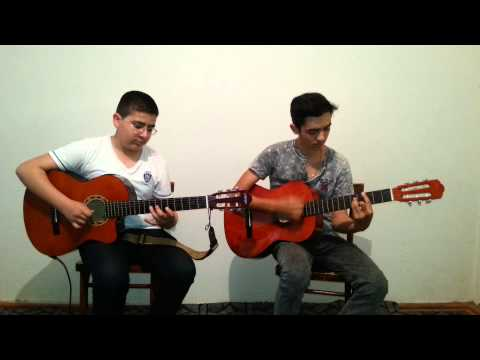 Tin Ushaqlari - Senin Olsun  ( Guitar Cover ) ~ Aqil Zeynalov & Ruslan Eliyev