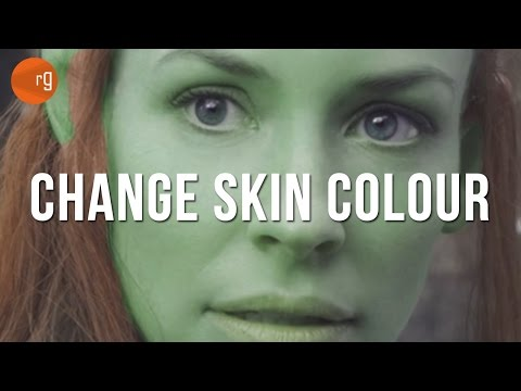 How To Change Skin Colour In PhotoShop CC - Tutorial