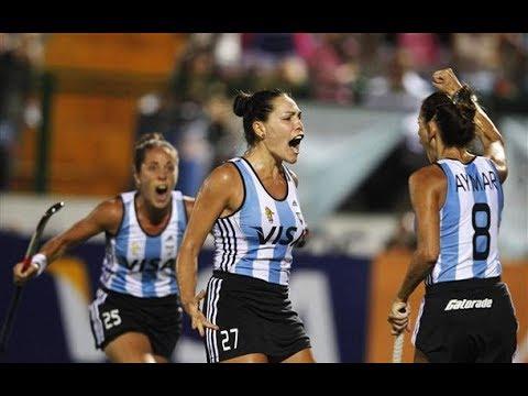 Argentina - Canada Hockey Highlights (Women)