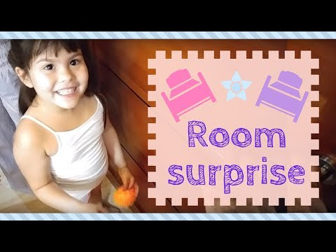 Room surprise for Kendra and Scarlett!