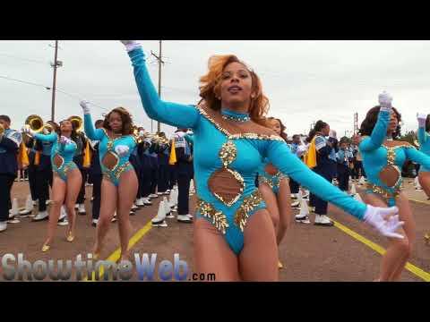Dancing Dolls of Southern University Human Jukebox - 2018 Mardi Gras Parade