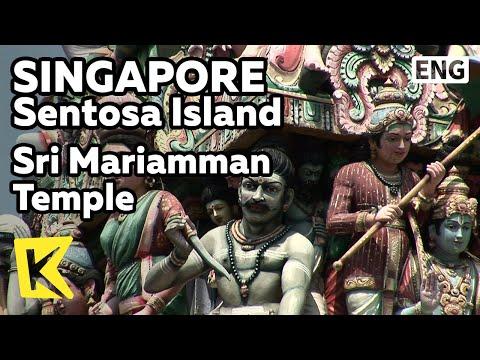 【K】Singapore Travel-Singaopore[싱가포르 여행-싱가포르]스리 마리암만 사원/Sri Mariamman Temple/Hindu Temple/Arti Puja
