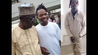 At Last! Am I Yahoo Boy, Naira Marley free today after 34 days in prison, See How Crowd Gathered Him