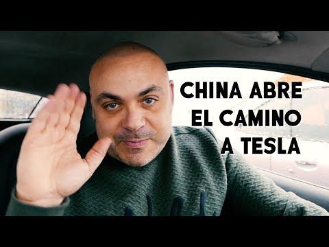 CHINA allana el camino a TESLA - Lo que hay que saber