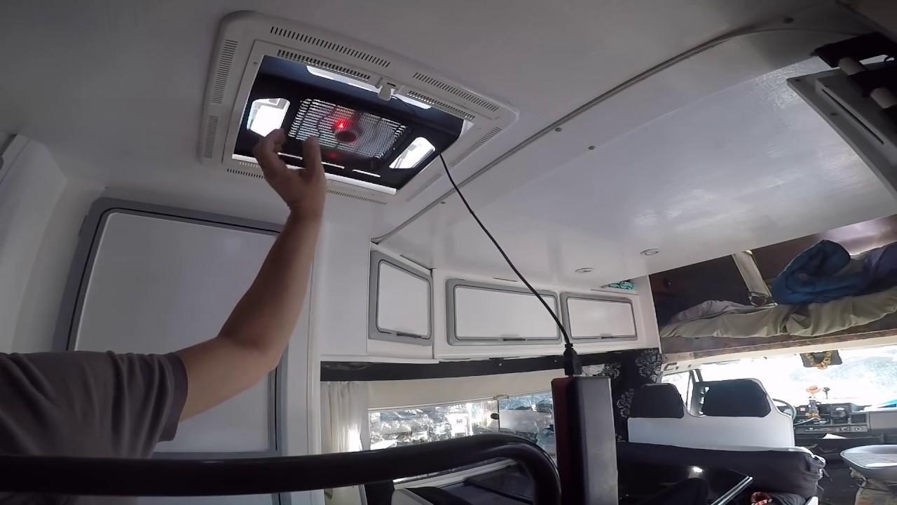PRÉSENTATION ASTUCE CAMPING CAR / FOURGON AMENAGE / VAN : RAFRAICHIR L INTERIEUR - YouTube
