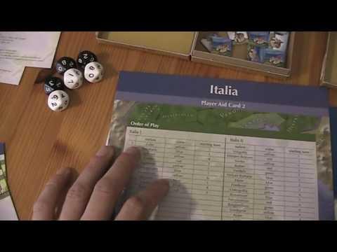 A lonesome Gamer plays Italia Turn 1. 1
