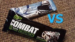 Quest Bar Vs Combat Crunch (macro Comparison/taste Test)