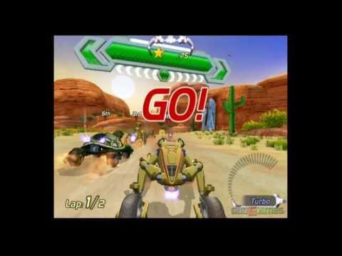 Excitebots: Trick Racing - Gameplay Wii (Original Wii)