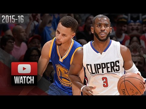 Stephen Curry vs Chris Paul PG Duel Highlights (2015.11.19) Clippers vs Warriors - MUST Watch!