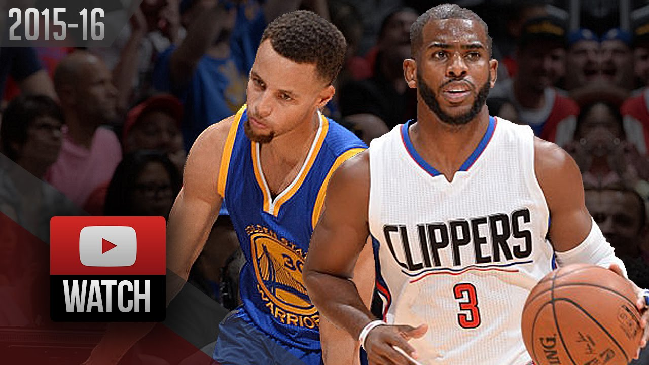 b57f420640ca Stephen Curry vs Chris Paul PG Duel Highlights (2015.11.19) Clippers vs  Warriors - MUST Watch! - YouTube