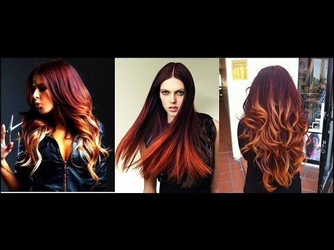 Ombre Hair Color For Dark Hair Youtube