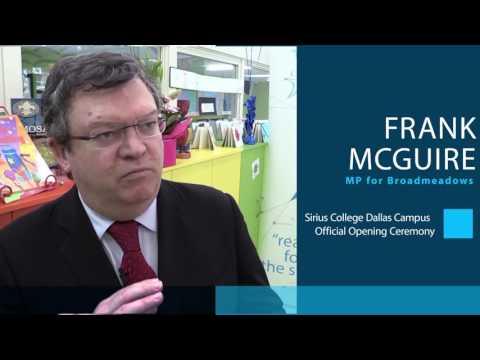 Frank McGuire Dallas Campus Opening Ceremony