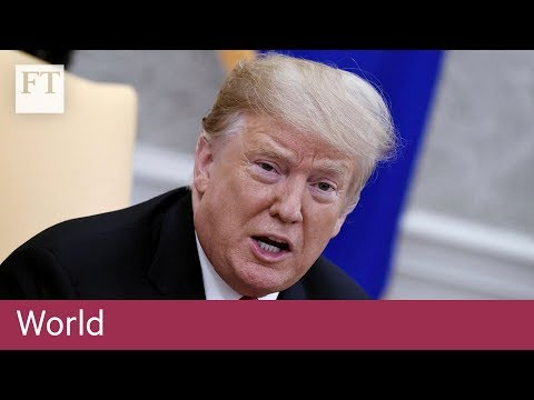 Trump repeats tariff threat if China retaliates