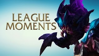 League of Legends Epic Moments - Kiting, Wombo Combo, Saving The Day!