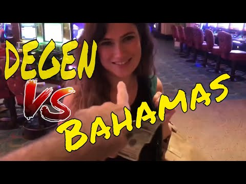 BEING A DEGEN IN THE BAHAMAS (Gambling Vlog #28) Atlantis Resort
