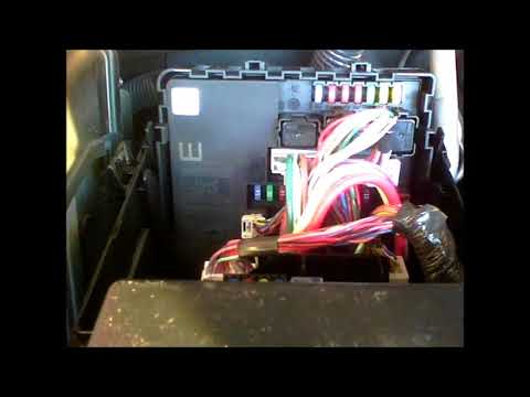 nissan frontier trailer tow lights fuse replacement youtube
