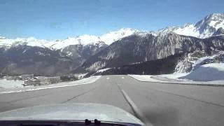 2011 Courchevel CVF (LFLJ) take off RWY 04